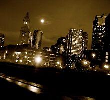 Boston by Night by Jennifer Muller