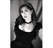 The curve is mightier than the sword! Photographic Print