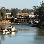 Echuca Wharf by Graham Buffinton