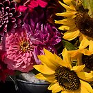 Flowers at the market by cherylc1