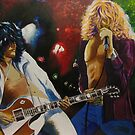 Jimmy &amp; Robert (Led Zeppelin) by Kieran  Sturgeon