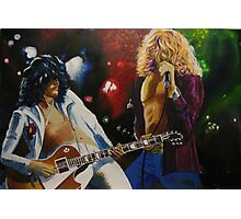 Jimmy & Robert (Led Zeppelin) Photographic Print