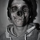 hooded skull by HoodedYouth
