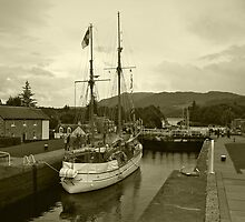 Caledonian Canal by WatscapePhoto