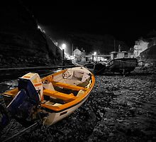 Night Image - Selective Colouring by David Lewins