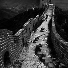 Great Wall Solitude - Miyun, China by Alex Zuccarelli