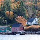 Fisherman&#x27;s Home, North-West Cove by Jann Ashworth