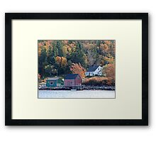 Fisherman's Home, North-West Cove Framed Print
