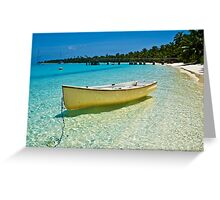 Yellow II - Cocos (Keeling) Islands Greeting Card
