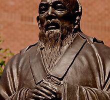 Confucius, Manhattan's Chinatown by micpowell