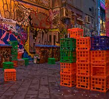 Centre Place - Melbourne 3 by James Torrington