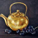 """""""Copper Pot"""" - Oil Painting by Avril Brand"""