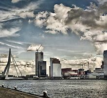 Erasmus bridge, Rotterdam. by cocoon