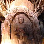 Buddha stupa by magiceye