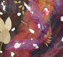 collage,acrylic on canvas  by Leeandmadison