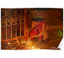 DIWALI,  A FESTIVAL OF LIGHTS Poster