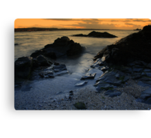 Autumn view of Skerries Canvas Print