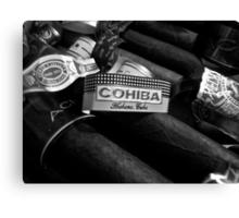 cuban cohiba  Canvas Print