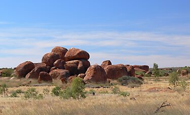 Devil's Marbles by Georg Friedrich