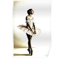 Dancer at Peace Poster