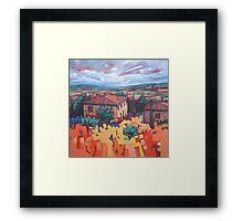 Chianni from Santa Luce Framed Print
