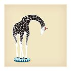 Circus Giraffe by Lisa Rupp