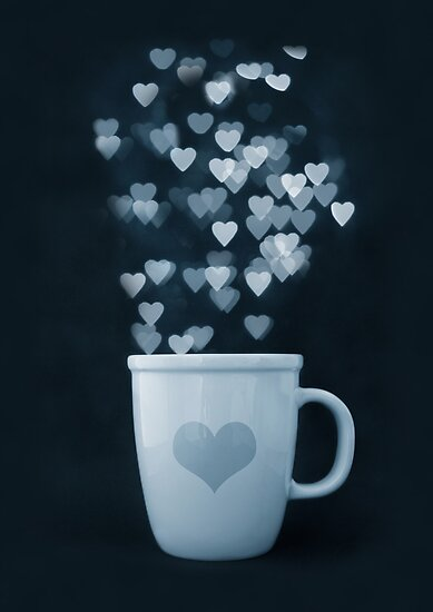 Tea : Love : Coffee by Anne Schwaderer