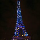 Eiffel Tower @ Night by Erica Morse