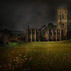 Fountains Abbey - Yorkshire by eddiej