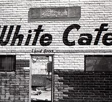 White cafe by Rees Gordon