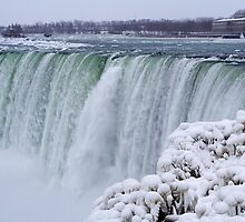 Niagara Falls in Winter by Mark Van Scyoc