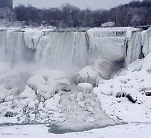 American Falls in Winter by Mark Van Scyoc