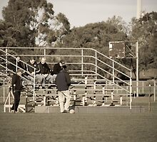 Flinders Peak Reserve Bleachers by JAKShots-Sports