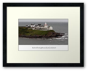 Roche's Point Lighthouse, Ireland by Dave  Frost