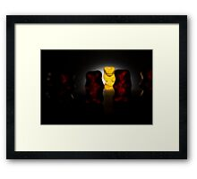 Gummy Bear Photography - The Impact On Others Framed Print