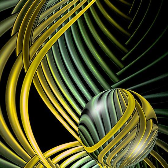 Art Deco Metalsphere (777 Views) by plunder