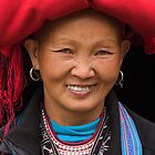 Red Dzao Woman - Sapa, Vietnam by Alex Zuccarelli