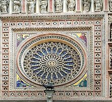Orvieto - Dome - Rose Window by paolo1955