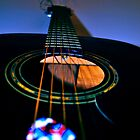 acoustic guitar by stillcrackin