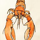 Lonely Lobster by ishabrown