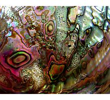 Mother of Pearl Photographic Print