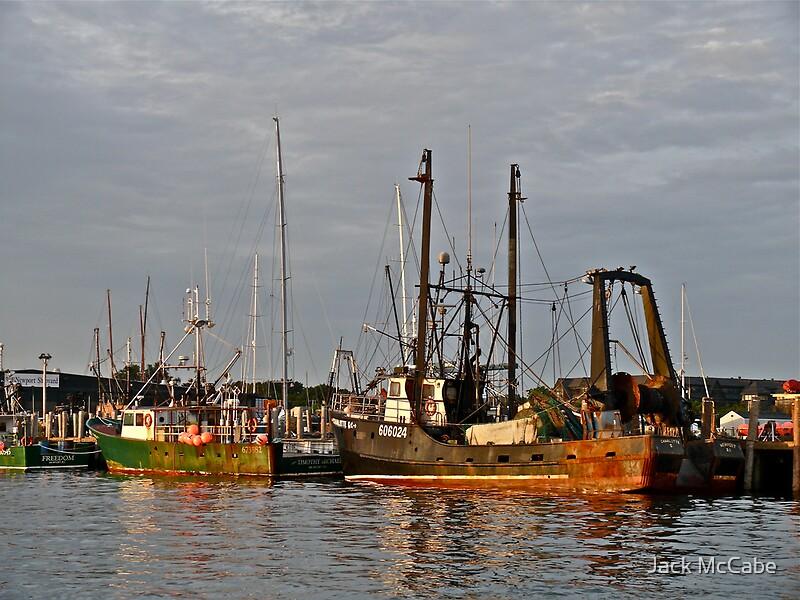 fishing boats newport harbor rhode island 2009