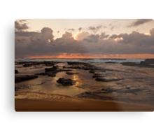 Sunrise over Wamberal Metal Print