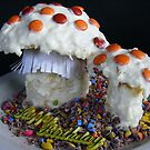 Fungi Birthday Cake by Esther's Art and Photography