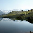 Bachalpsee Panorama, Switzerland by Matthew Walters