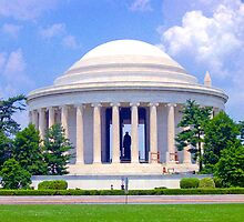 *JEFFERSON MEMORIAL* by Van Coleman