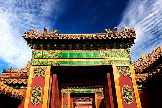 Sublime Gateway - The Forbidden City, China by Alex Zuccarelli