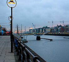 Dublin Docklands, Ireland by Chuck Zacharias