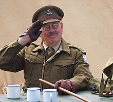 """You Stupid Boy"" (Captain Mannering - Dads Army) by Colin J Williams Photography"