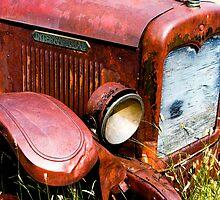 Old Truck 2 by Ilene Baumgardner
